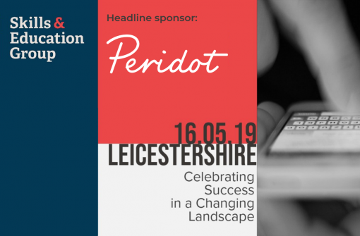 Skills and Education Conference - Peridot headline sponsors