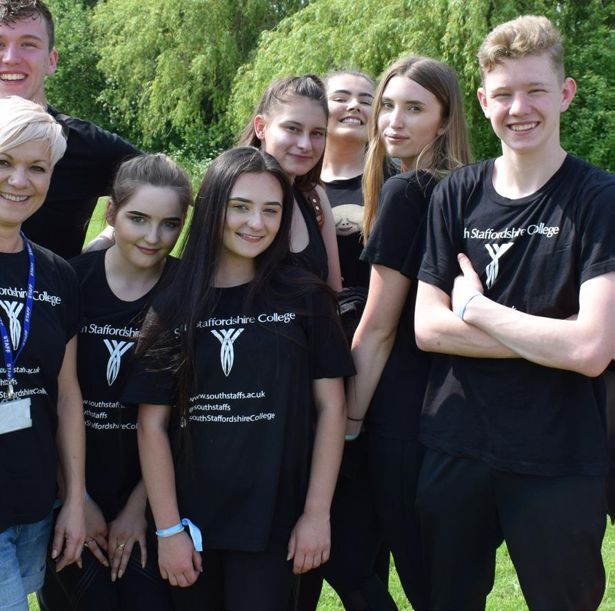 South Staffordshire College students for Deputy Principal
