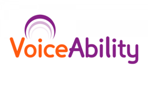 VoiceAbility Logo - Charity board development by Peridot