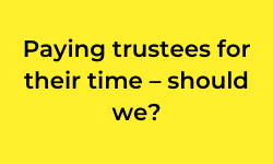 Blog: Paying trustees for their time