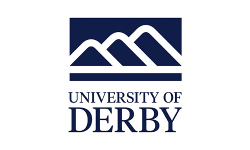 University of Derby logo best FE executive recruitment agencies Peridot